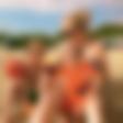 Maša Merc z otrokoma v vodnem parku