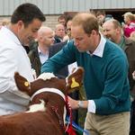 Princ William na srečanju kmetovalcev (foto: Profimedia)