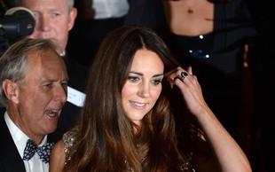 Kate Middleton znova na rdeči preprogi