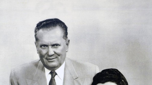 Tito s svojo Jovanko leta 1960 (foto: Profimedia)