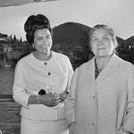 Jovanka z Nino, ženo sovjetskega voditelja Hruščova (foto: Profimedia)