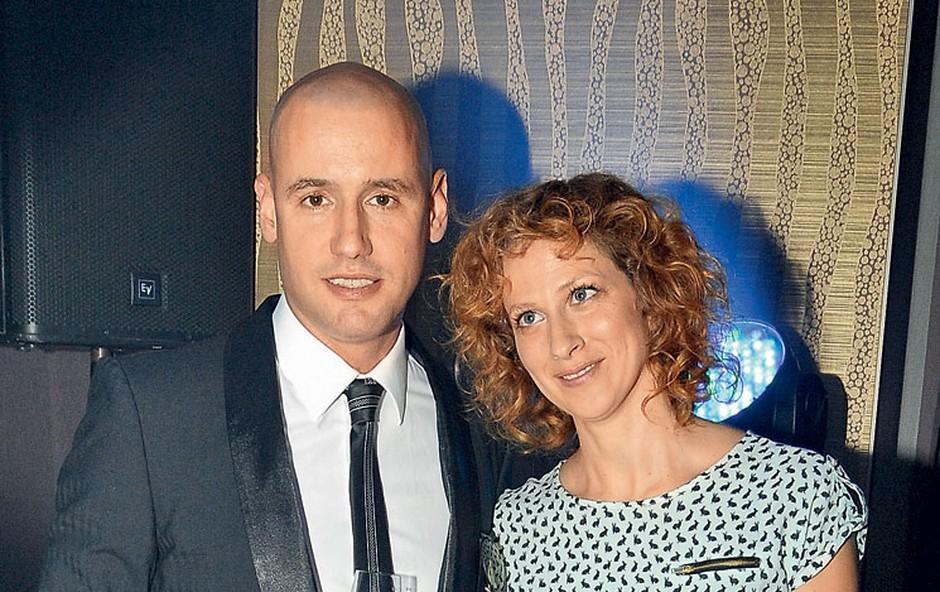 Peter Poles in Nika Veger (foto: Sašo Radej)