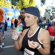 Pamela Anderson ujeta na newyorškem maratonu