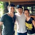 Ivo Rimc na Tajskem z Owenom Wilsonom