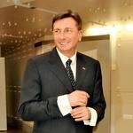 Tudi predsednik države Borut Pahor je  prisluhnil Prifarcem.  (foto: Sašo Radej)