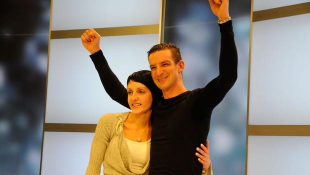 Za Tomaža je zagotovo najbolj goreče navijala njegova žena ... (foto: Sašo Radej)