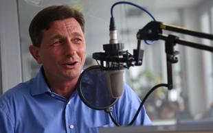 Predsednik Pahor v fitnesu: Trenirko si je sam skrajšal s škarjami - poglejte rezultat!