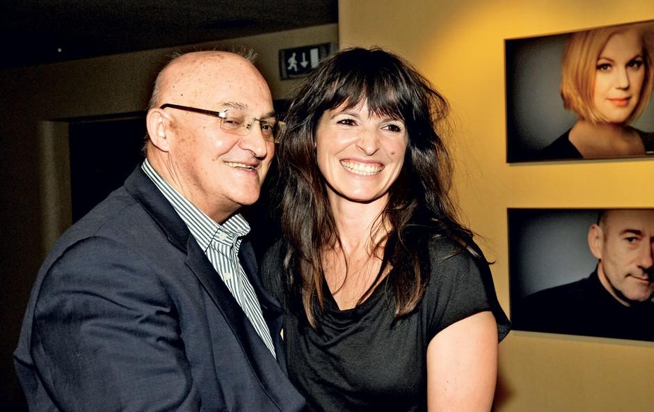 Ves čas nasmejana – Vasko Polič in Ana Dolinar Horvat. (foto: Sašo Radej)