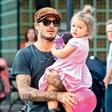 David Beckham zelo razvaja svojo ljubo hčerko