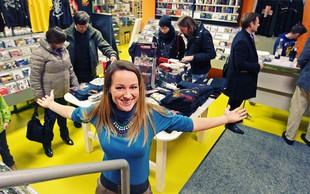 Anja Baš navdušila na odprtju Dallasove trgovine
