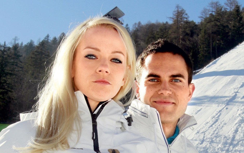 Jernej Damjan in Taya (foto: Goran Antley)