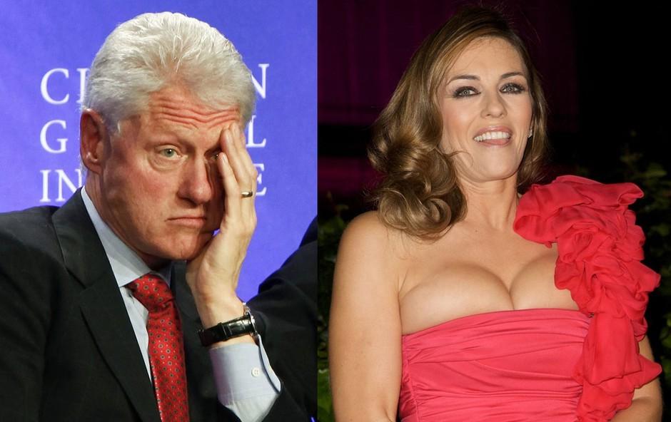 Bill Clinton in Elizabeth Hurley (foto: Profimedia)