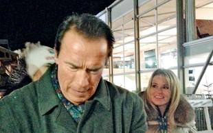 Schwarzenegger je pokazal novo dekle