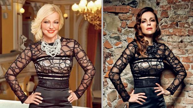 Karin in Natalija Verboten (foto: revija Nova)