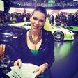 Iris Mulej uživala med pregrešno dragimi avtomobili