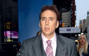 Nicolas Cage je obupano iskal punco