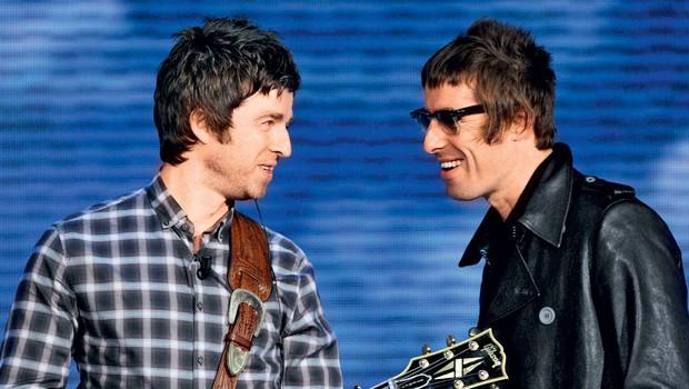 Liam in Noel Gallagher (foto: Profimedia)