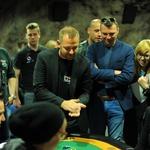 Znani Slovenci so se pomerili v pokru 'na vulkanu' (foto: Tanja Černi)