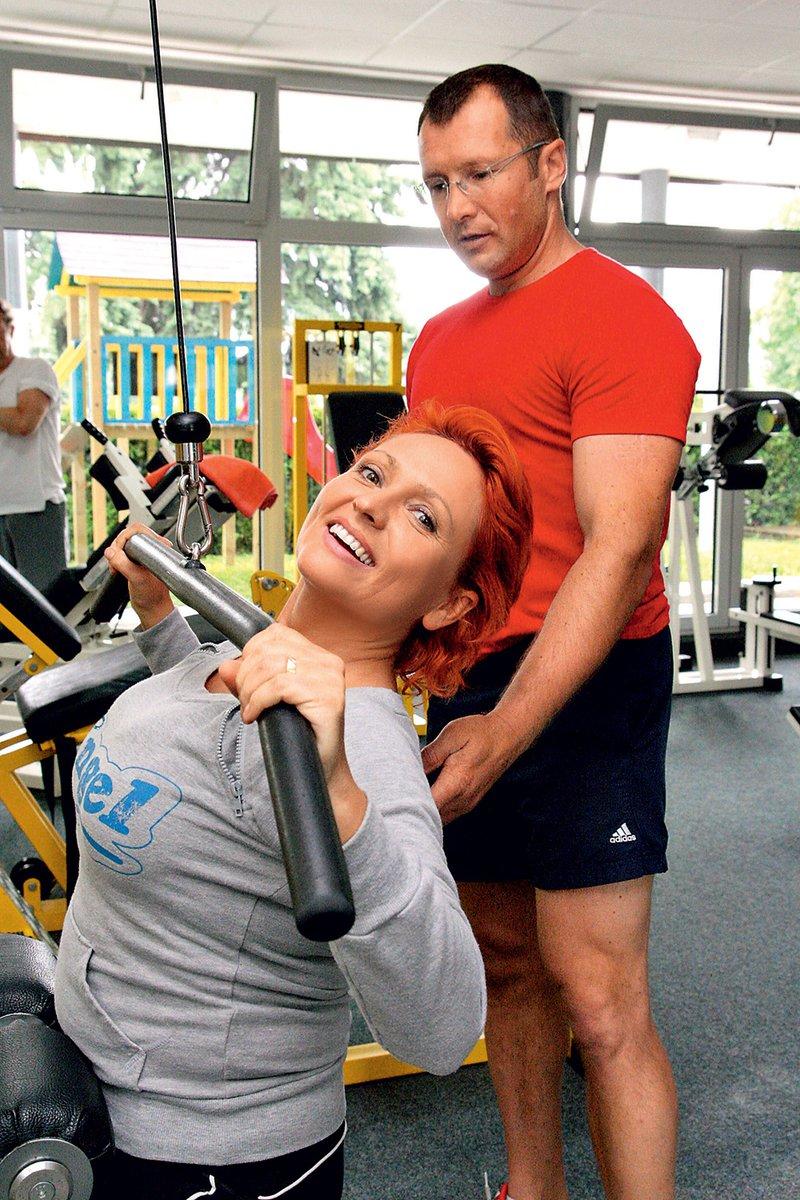 Natalija trikrat na teden obišče fitnes, kjer trenira pod vodstvom priznanega trenerja Mira Jerenca.