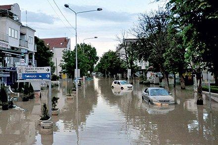 Katastrofalne poplave v Srbiji in BiH