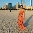 Tadeja Ternar uživala v Dubaju