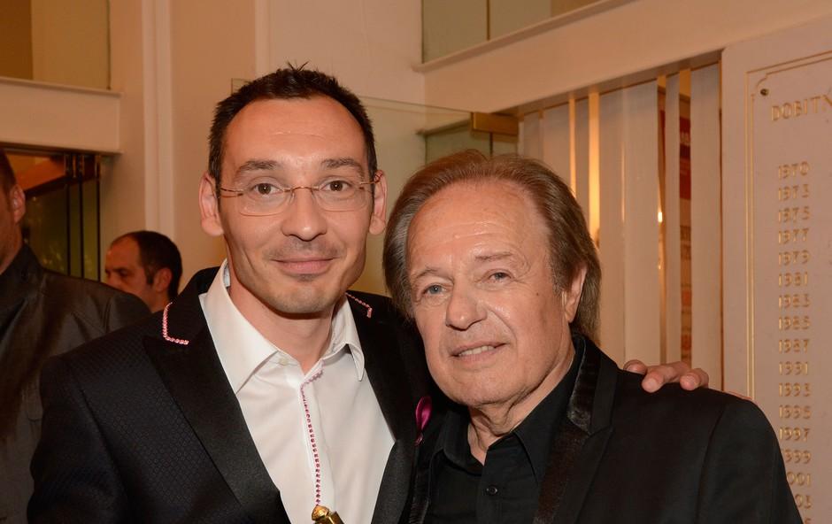 Tadej Toš in Alfi Nipič (foto: Sašo Radej)