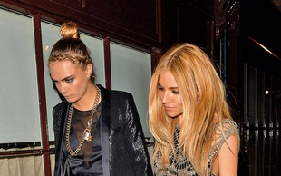 Sienna Miller in Cara Delevingne: Več kot prijateljici?