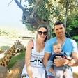 Vasilij Žbogar z družinico obiskal živalski vrt