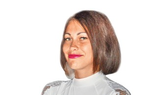 Modna zvezda: Teja Jeglič, modni pogreb: Miro Todosovski