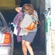 Tako je Eva Mendes skrila svoj nosečniški trebušček