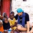 Boštjan Nachbar med afriškimi sirotami