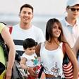 Lionel Messi na počitnicah z družino