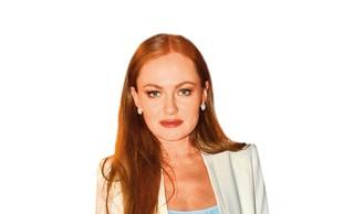 Modna zvezda: Iryna Osypenko, modni pogreb: Maša Kljun