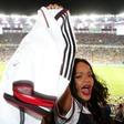 Rihanna se podaja v nogometne vode
