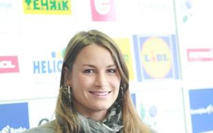 Sara Isaković se je danes poslovila od kariere