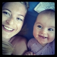 Marika Savšek ima najbolj ljubko hči na svetu