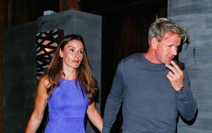 Gordon Ramsay z ženo opažen v Malibuju