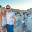 Natalija Osolnik je uživala na Santoriniju