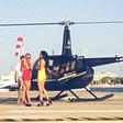 Anja Jenko iz službe kar s helikopterjem