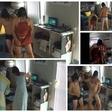 Klepač in Gustinčič s striptizom zrušila spletno stran