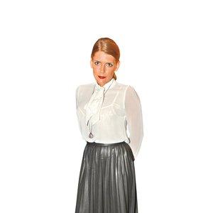 Modna zvezda: Maša Kljun, modni pogreb: Eva Černe