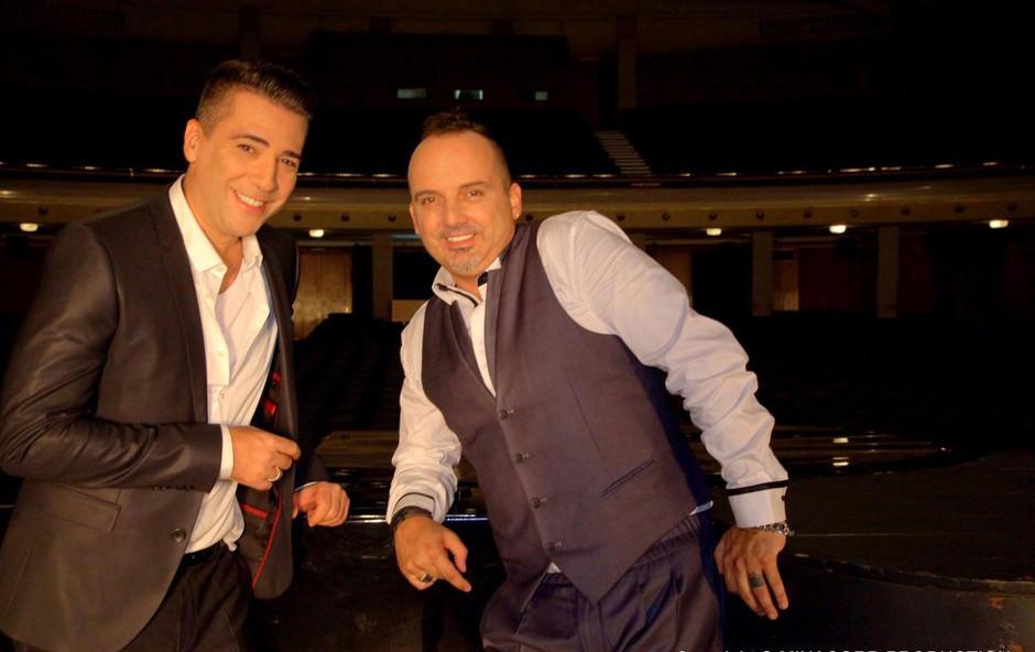 Tony Cetinski in Željko Joksimović  (foto: facebook.com/joksimoviczeljko)