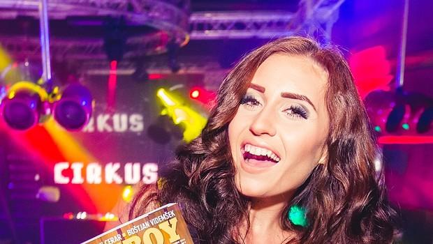 Vroča Anja Jenko proslavila izid 'svojega' Playboya (foto: Marko Delbello Ocepek)