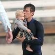 Josh Duhamel užival s svojim sinčkom