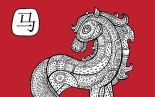 Povezava med Konjem in znaki zahodnjaškega zodiaka