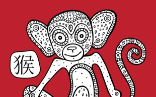 Povezava med Opico in znaki zahodnjaškega zodiaka