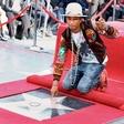 Pharrell Williams je dobil zvezdo na pločniku slavnih