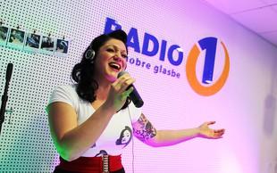Maja Založnik je navdušila poslušalce Radia 1