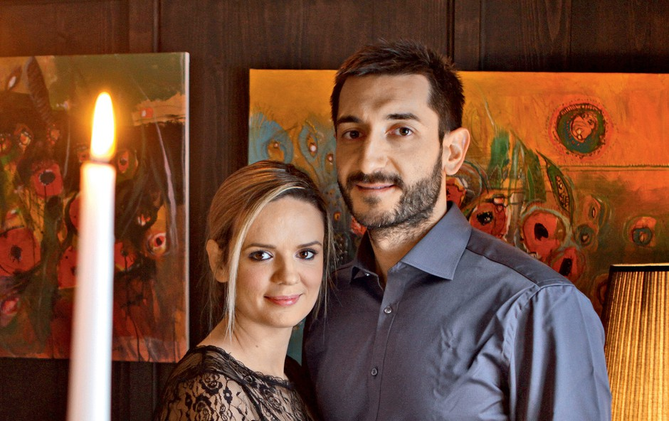 "Ljubezenska zgodba Aide Smajić in Dragana Gajića: ""Takoj sem vedela, da je to to"" (foto: story press)"