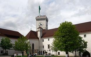 Z glasbo in plesom v Gregorjev vikend na Ljubljanskem gradu